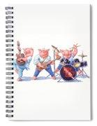 Thin Piggy Spiral Notebook