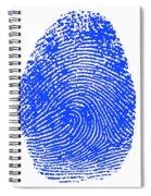 Thumbprint Spiral Notebook