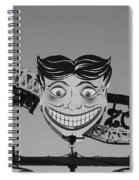 Tillie's Scream Zone In Black And White Spiral Notebook
