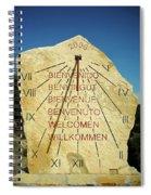 Time ... Spiral Notebook