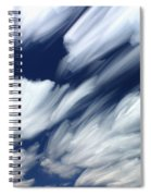Time-lapse Clouds Spiral Notebook