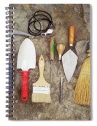 Tools Used To Excavate Dinosaur Fossils Spiral Notebook