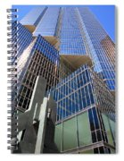 Toronto Financial Core Buildings Spiral Notebook