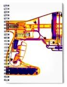 Toy Vortex Gun Spiral Notebook
