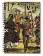 Trade Card, C1880 Spiral Notebook