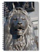 Trafalgar Square Lion Spiral Notebook