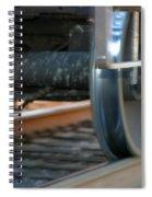 Train Tires Spiral Notebook