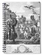 Treaty Of Ghent, 1814 Spiral Notebook