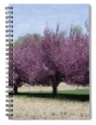 Trees On Warwick Spiral Notebook