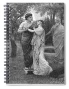 Troilus And Cressida Spiral Notebook
