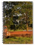 Truck And Tank 8 Spiral Notebook