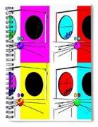 Truly Nolen Rat In Quad Colors Spiral Notebook