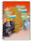 Tsunami Interior Spiral Notebook