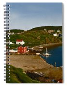 Two Good Arms Newfoundland Spiral Notebook