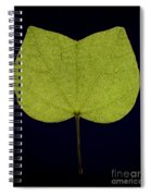 Two Lobed Leaf Spiral Notebook
