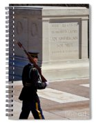 Unknown Soldier Spiral Notebook