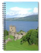 Urquhart Castle Spiral Notebook