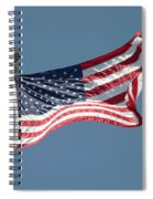 Usa Flag Spiral Notebook