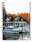 Vancouver Rowing Club Spiral Notebook