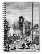Venice: Arsenale Spiral Notebook