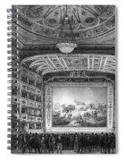 Venice: Teatro La Fenice Spiral Notebook