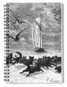Verne: Around The World Spiral Notebook