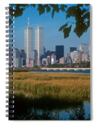 View From Liberty State Park Spiral Notebook