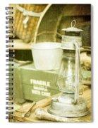 Vintage Lamp Spiral Notebook