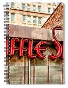 Waffle Shop Spiral Notebook