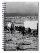 Wagon Train Spiral Notebook