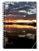 Wakamaw Valley Sunrise Spiral Notebook