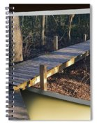 Walk Bridge Spiral Notebook