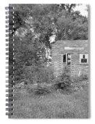 Walnut Grove School Ruins Spiral Notebook