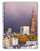 Warsaw Cityscape Spiral Notebook
