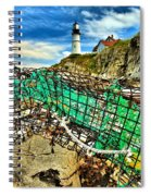 Washed Up Spiral Notebook