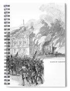 Washington Burning, 1814 Spiral Notebook