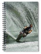 Water Skiing Magic Of Water 27 Spiral Notebook