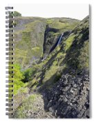 Waterfalls Of Table Mountain Spiral Notebook