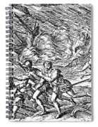 West Indies: Hurricane Spiral Notebook