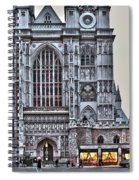 Westminster Abbey And  Victoria Tower Spiral Notebook