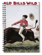 W.f. Cody Poster, C1885 Spiral Notebook