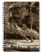 Whirlwinds, 1873 Spiral Notebook