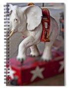 White Elephant Spiral Notebook
