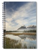 Whitegoat Lake And Mount Elliot Spiral Notebook