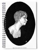 Wild Boy Of Aveyron Spiral Notebook