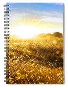 Wild Spikes Spiral Notebook