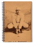 William Ellsworth Hoy Spiral Notebook