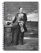 William II Of Germany Spiral Notebook
