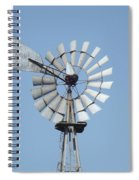 Windmill II Spiral Notebook