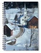 Winter Countryside Spiral Notebook